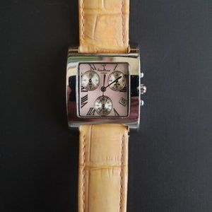 Lucien Piccard Ladies Pink Multi-Dial Chrono Watch
